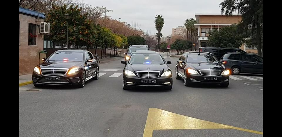 coches con conductor en sevilla comitiva