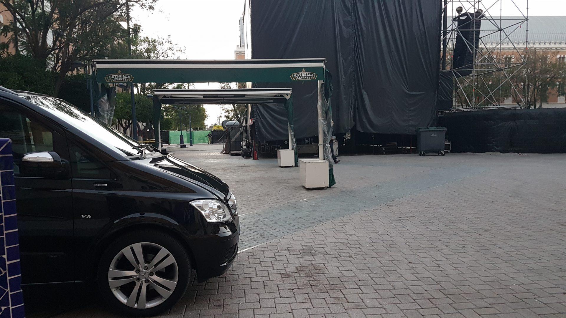 Transporte para conciertos VIP